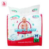 Grado superior de algodón suave seco y cómodo del bebé de los panales del pañal