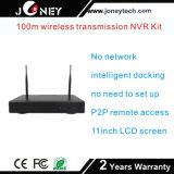 Sistema sem fio impermeável Realtime da câmera do CCTV do jogo de 8channel WiFi NVR