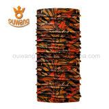 De openlucht Berijdende Multifunctionele Sjaal van de Hals van de Polyester van de Zakdoek Tubulaire