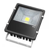 Lúmenes alta iluminación LED 50W Bridgelux luz exterior de aluminio