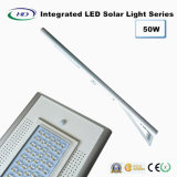luz de rua solar Integrated do diodo emissor de luz do sensor de 50W PIR