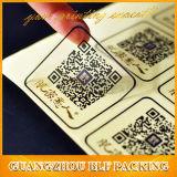 Etiqueta engomada auta-adhesivo del papel de escritura de la etiqueta