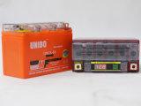 ゲルの高性能LCDの表示Mf 12n6.5LBSの手入れ不要のゲルのオートバイ電池