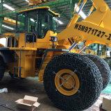 Chargeur de chariot élévateur à roues de 27 tonnes pour levage de blocs à l'aide de Quarry Ce