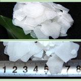 La soda caustica di elevata purezza si sfalda idrossido di sodio