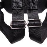 Form-klassischer echtes Leder-Rucksack-Riemen-Beutel-Schulter-Beutel