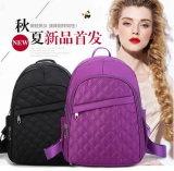Personalidade do lazer do lazer do saco da trouxa do ombro da menina bonito coreana nova do vento do instituto do bordado única dos estudantes