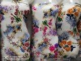 Tessuto viscoso della stampa della cifra del fiore di modo delle signore del rayon