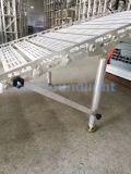 Carretilla plegable de aluminio de remolque de carga de la rampa de descarga para la etapa el equipo