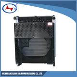 Radiador Wd129tad19-2 de alumínio para o radiador refrigerar de água do gerador