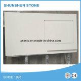Materiali bianchi popolari del controsoffitto della pietra del quarzo per la stanza da bagno