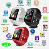 Heiße verkaufenBluetooth intelligente Uhr mit Android und IOS (U8)