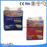 Molfixのおむつの良質の中国の使い捨て可能な赤ん坊のおむつ