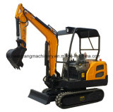 Escavador da maquinaria de construção mini 1800kg de China para a venda