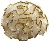 Acessórios da curva da fita da flor da fita para casamentos da decoração da flor dos vestidos