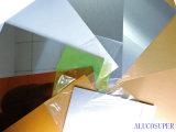 Recubiertas de aluminio hojas en blanco para la impresión de la sublimación Imágenes