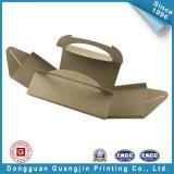 Il documento di colore del Brown agglutina il contenitore di imballaggio (GJ-box141)