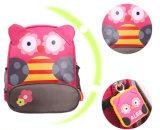 O saco de escola animal do jardim de infância da trouxa dos desenhos animados das crianças da trouxa da escola preliminar da forma personalizou a venda por atacado da cópia do logotipo