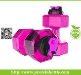 BPA geben materielle Molkeprotein-Schüttel-Apparatflasche mit Metallkugel frei
