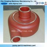 Pompa dei residui che mette l'intelaiatura in una cassa resistente all'uso della pompa dal pezzo fuso di sabbia