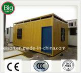 Временно передвижная полуфабрикат/Prefab дом для места конструкции