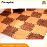 Le grain de bois en mousse EVA Non-Toxic tapis de plancher, du grain du bois des carreaux de sol en mousse EVA Tapis de sol tapis de jeu