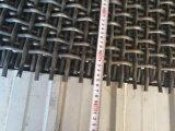 Media de la pantalla de alambre del Técnico-Tamiz en acero de manganeso 65