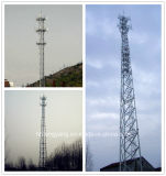 De zelfstandige Toren van het Rooster van 3 van Benen Telecommunicatie van het Staal