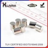 De permanente Magneet van de Auto van de Zeldzame aarde van de Cilinder van het Neodymium Magneet Gesinterde Sterke