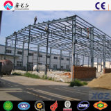 Sich verjüngender h-Kapitel-Stahlkonstruktion-niedrige Kosten-Stahl-Hangar