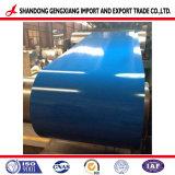 Color de la estructura de acero galvanizado recubierto PPGI bobinas de acero utilizados en construcción