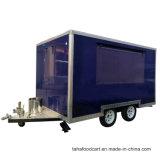 La nourriture remorques de camions Van café mobile d'aliments pour la vente de remorque