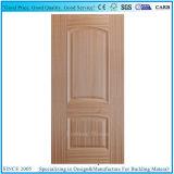 2+1パネルの実質の灰の木製のベニヤ型HDFのドアの皮