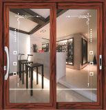 Конструкция Fuxuan безопасности алюминиевые раздвижные двери