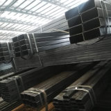 Tubo de acero o hierro negro/tubo de cuerpos huecos cuadrados o rectangulares