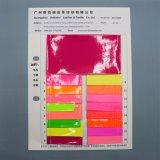 Fluoreszenz-Glanzfaux-Patent PU-Leder für Beutel-Schuh