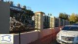 カスタマイズされた高品質のHot-Galvanized錬鉄の金属の塀の安全塀