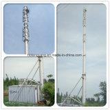 직류 전기를 통한 강관 가로등 폴란드 30 미터 Monopole 안테나 커뮤니케이션 라디오 탑