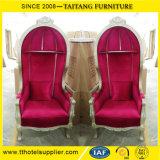 Wohnzimmer-hoch rückseitiger Goldkabinendach-Stuhl