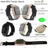 La montre de traqueur de l'adulte la plus neuve GPS avec la carte SIM (T59)