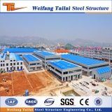 Относящое к окружающей среде полуфабрикат светлое здание фабрики стальной структуры