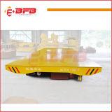 Carro de transporte motorizado uso de la industria de metal para el transporte de la fábrica y del almacén