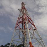4G自己サポートの格子コミュニケーション管状の風タワー