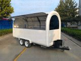 2018 Towability catering comida Trailer doble eje Mobile Burger Van