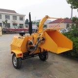 販売のための中国のディーゼル移動式木製の砕木機