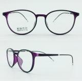Super Light metade de aço de plástico novo Design de Moda Armações de óculos Óptica