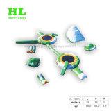 Sein kann kundenspezifische großräumige konkurrierende aufblasbare Serien-Trampoline