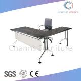 Blanc élégant Forme de l'Office Table Bureau exécutif (AC-MD1857)