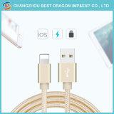 Золотой нейлон с оплеткой 3.0 Тип C кабели USB для iPhone iPad mini 1/2/3/4