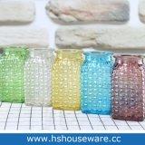 Vaso di vetro di colore del quadrato di disegno di Waeving